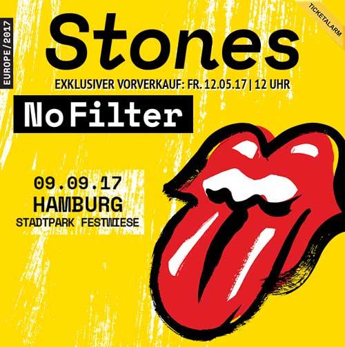 Rolling Stones live im Hamburger Stadtpark
