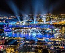 Hamburg Cruise Days 2017: AIDAprima führt die große Schiffsparade an
