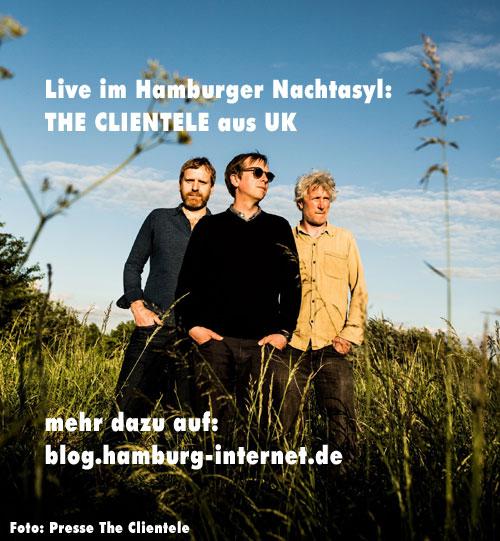 The Clientele live im Nachtasyl