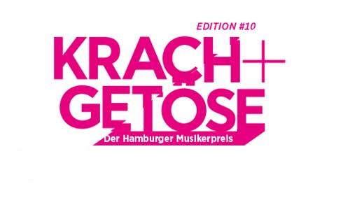 Der Hamburg Music Award KRACH+GETÖSE 2020 startet am 12. März 2020 in die Bewerbungsphase!