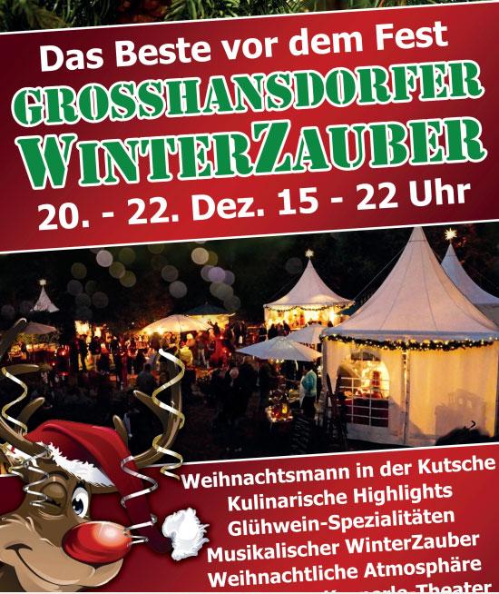 Großhansdorfer WinterZauber – Das Beste vor dem Fest