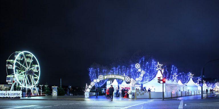 Weihnachtsmarkt 2019: Weißerzauber auf dem Jungfernstieg in Hamburg