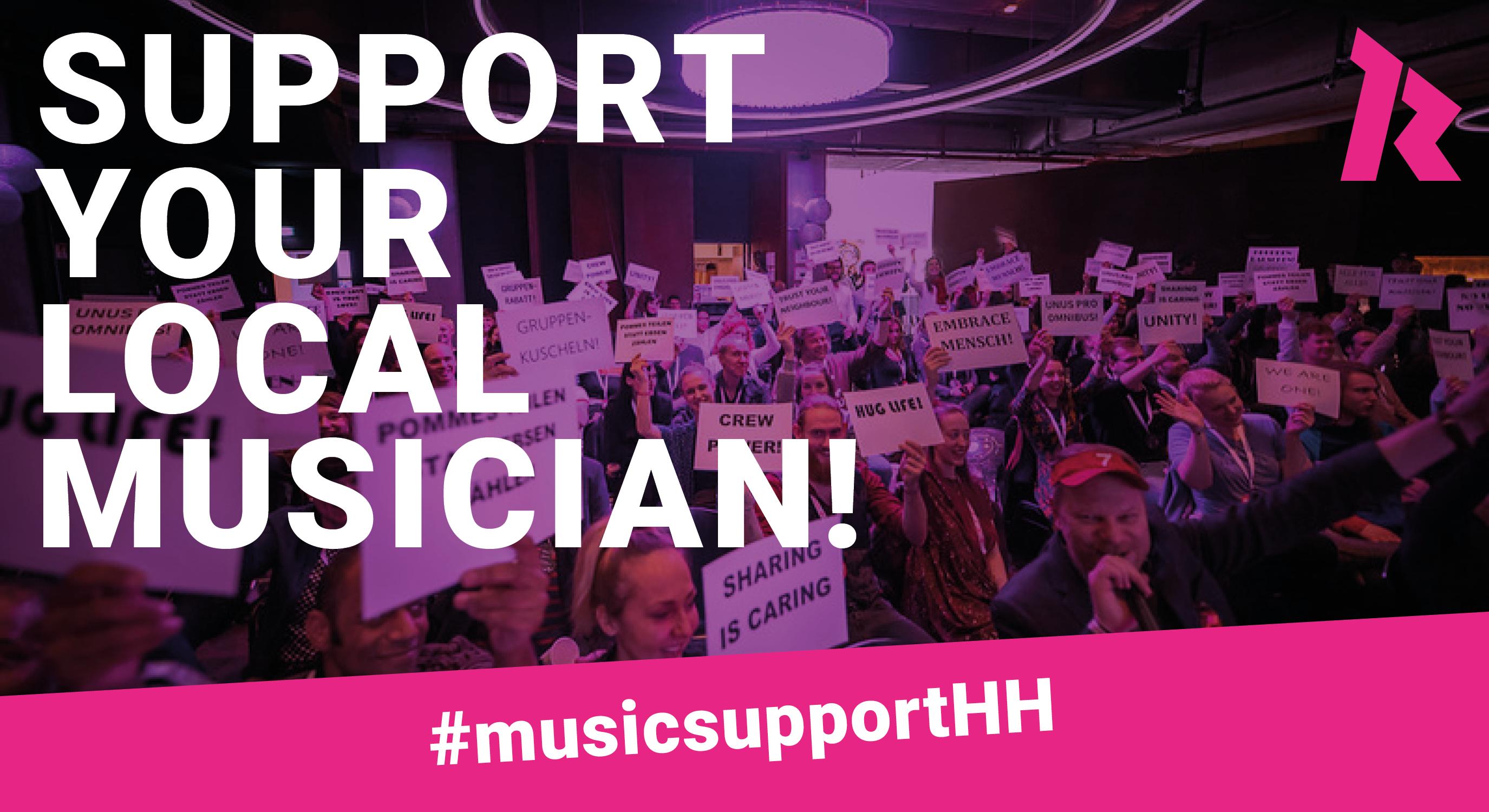 RockCity Hamburg e.V. ruft zu Spenden für Hamburgs Musiker_innen auf!