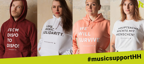 #musicsupportHH: RockCity Plakataktion zugunsten der Hamburger Musikszene