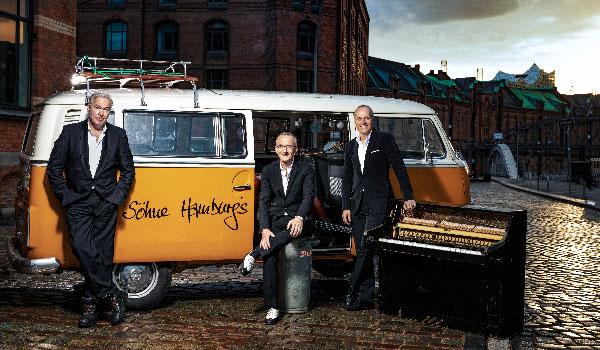 Die Söhne Hamburgs: Stefan Gwildis, Rolf Claussen und Joja Wendt gemeinsam auf Deutschland-Tour.